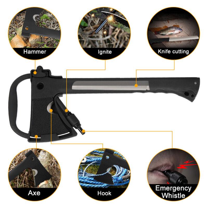 "14"" MTECH USA Survival Tactical Tomahawk Throwing Axe Knife Hawk Hatchet Camping"