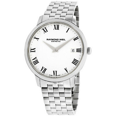 Raymond Weil Toccata White Dial Stainless Steel Mens Watch 5588 St 00300