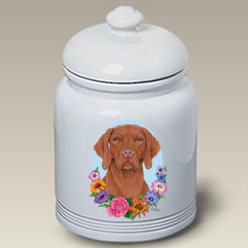 Vizsla Ceramic Treat Jar TP 47052