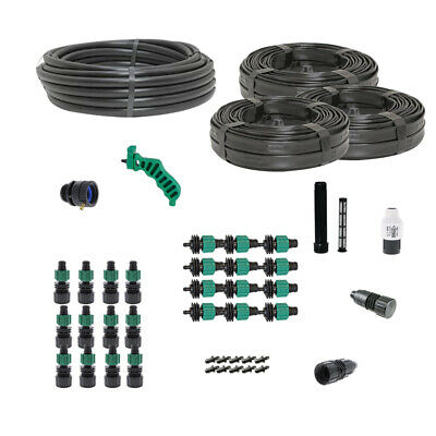Drip Tape Irrigation Kit for Row Crops & Gardens Premium Size
