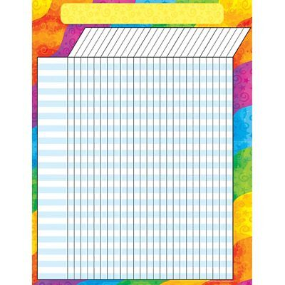 Rainbow Incentive Chart Teacher Created Resources TCR7623 - Incentive Chart