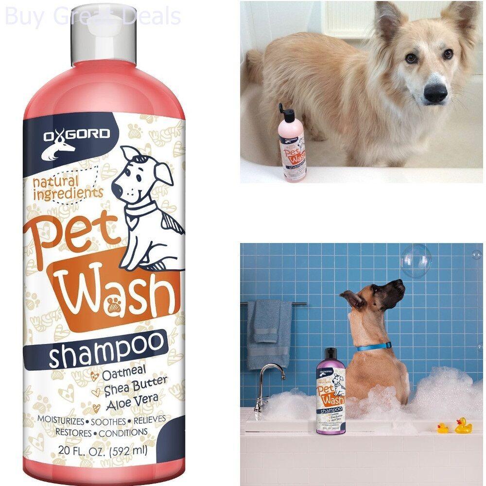 Dog Shampoo & Conditioner Natural 20 oz
