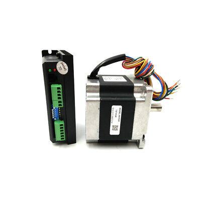4.5nm Nema34 2 Phase 86hs45 Hybrid Step Motor Dm860 Stepper Drive Kit For Cnc