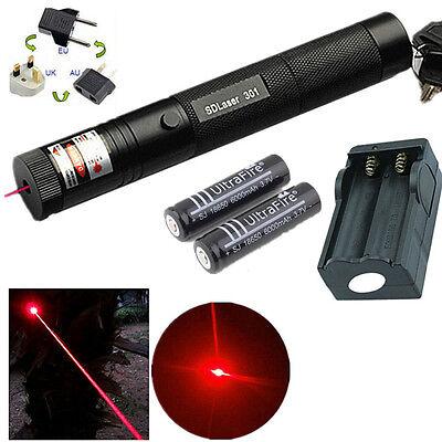 10 Mile Red 5mw 650nm Laser Pointer Pen Light 301 Lazer Visible Beam Zoom Focus