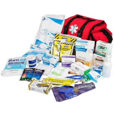 Ems First Responders Emergency Disaster First Aid Kit Bag 354 Piece