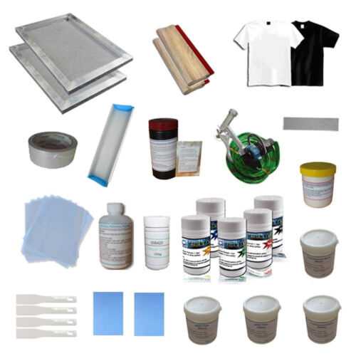 New Listing 1 Color Screen Printing Materials Kit for DIY Material Package