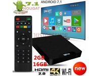 W95 2GB+16GB Android 7.1 TV Box Quad Core 17 HD Media Player Streamer UK