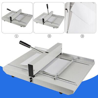 Manual Scoring Paper Creasing Scoring Machine Creaser Scorer W Lock 1-10 Sheets
