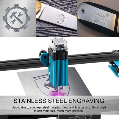 40w Engraving Laser Module Engraver Cutter For Metal Wood Stainless Steel V1s0