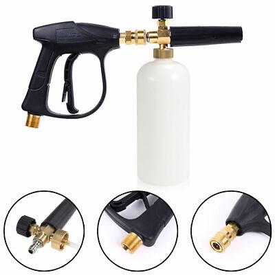 High Pressure Washer Snow Foam Spray Gun Lance Car Wash Empty Soap Bottle 1L NEW