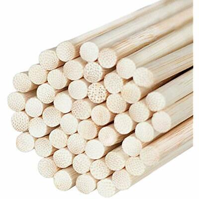 Natural Bamboo Dowel Craft Sticks For Photo Booth Props - Rods Crafts