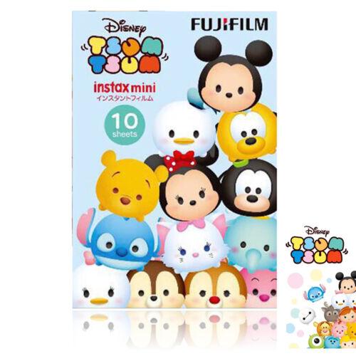 Fujifilm Mini Disney Tsum Tsum 10 Sheets Cartoon Color Film