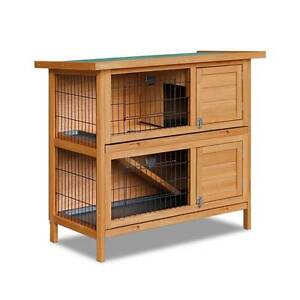 Double Storey Rabbit Hutch with Foldable Ramp Sydney City Inner Sydney Preview