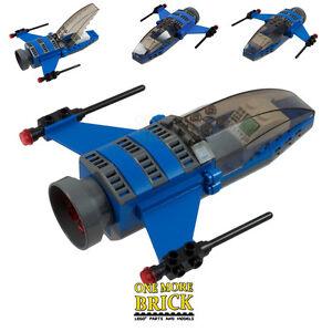 LEGO Spaceship - Custom Space Ship Shuttle - Cockpit, controls, engines and guns