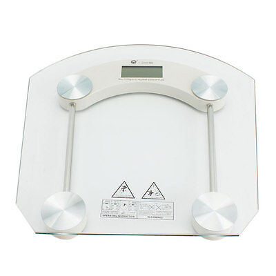 Digital Glass Lcd Electronic Weight Body Bathroom Health Scale Max 180Kg 396Lb