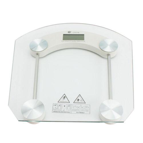 Digital Glass LCD Indoor Weight Body Bathroom Health Scale M