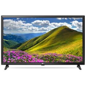 NEW LG 32LJ510B Grey 32inch HD Ready LED TV Freeview 2x HDMI Ports- COLLECT BRADFORD OR DELIVERY