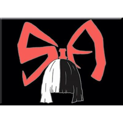 Sia Logo Decorative Exclusive Artwork Refrigerator Fridge Magnet - 2.5 X 3.5