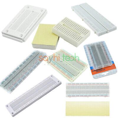 170 270 400 700 830 Tie White Clear Points Mini Solderless Breadboard Pcb Board