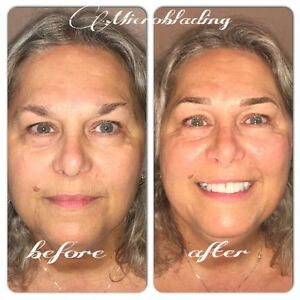 MICROBLADING EYEBROWS ($279 holiday special) Kitchener / Waterloo Kitchener Area image 1