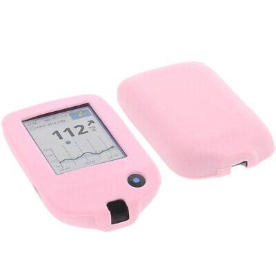 Tasche f. Abbott Freestyle Libre 2 Handytasche Schutz Hülle Silikon Silicon Pink