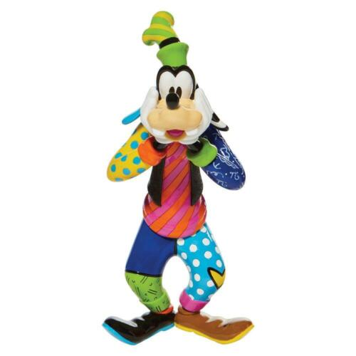 Goofy Disney Britto Large Figurine Multicolor 10 in High Resin Gift Boxed