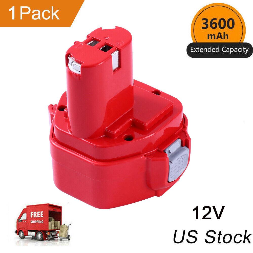 12V 3.6Ah Battery for Makita Cordless Tools 1200 1220 1201 P