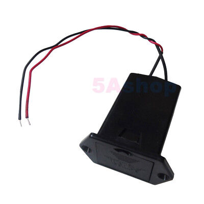 Size 9V Volt PP3 Battery Tray Drawer Holder Case Box Cover Wire Lead Panel Mount 3 Drawer Panel