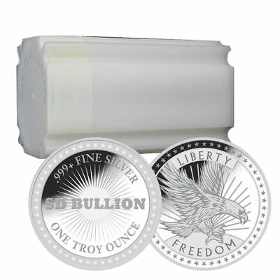 Купить 1 oz Silver Freedom Rounds | Mint Sealed Tube of 20