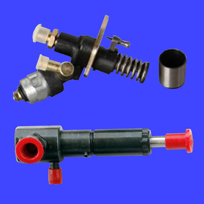 """Changfa Electric Fuel Pump & 4"""" Left Port Injector for CED6500S CED6500WF Diesel"""