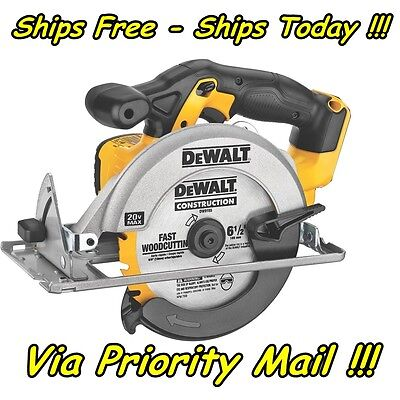 DeWalt DCS393 Circular Saw 20V 20 Volt Max Lithium Li Ion Cordless 6 1/2