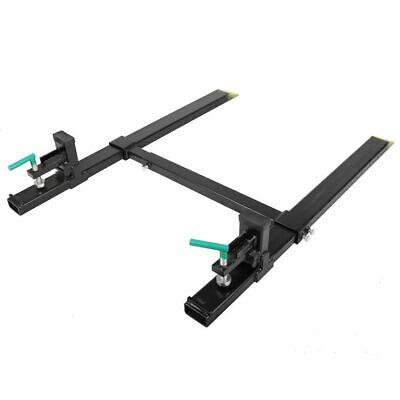 Clamp On Pallet Forks 4000lbs 43 Pallet Fork Wadjustable Stabilizer Bar