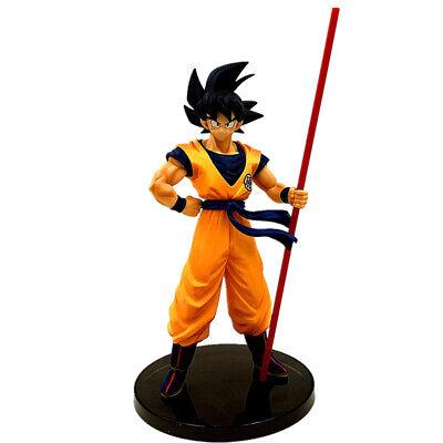 Dragon Ball Z Figure Goku Son Gokou's Power Pole Japanese Anime Statue Toy Gift (Dragon Ball Z Toys Goku)