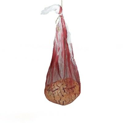 Halloween Shop (Halloween Horror Chop Shop Bloody BRAIN Sack Bag Party Decoration)