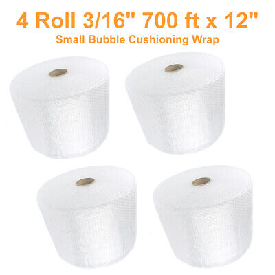 700 Feet Clear Anti-static Bubble Wrap Roll 12 Wide Perforated Every 12 Inch
