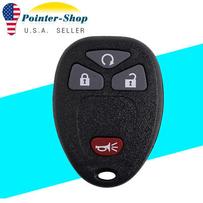 New Replacement Remote Start Keyless Entry Key Fob Control for 15913421