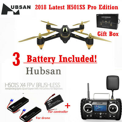 Hubsan H501S-S Pro X4 Drone 5.8G FPV Brushless 1080P Camera Quadcopter GPS RTH