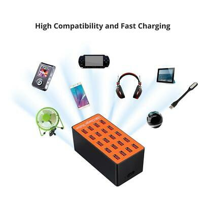 Chic 1l Wall (20 Port USB HUB Phone Smart Charging Station Wall Charger Adapter 100W)