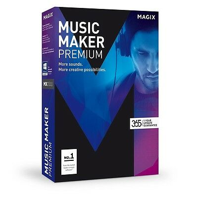 Magix Music Maker Premium Software  Download