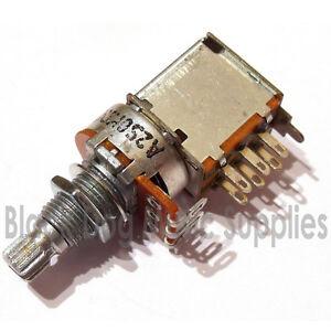 CHITARRA-PUSH-pull-POTENZIOMETRO-switch-250K-o-500K-tono-o-volume