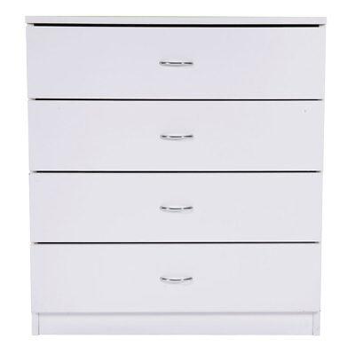 كومودينو جديد 1 3 4 Drawer Wood Bedroom Dresser White/ Black Chest Storage Simple Collection