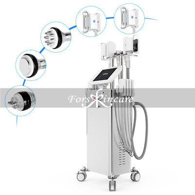 6 in 1 Cavitaion Freeze Cool Vacuum RF Radio Frequency Fat Removal Machine Spa