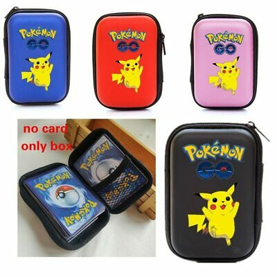 50 Capacity Pokemon Cards Album Case Card Pikachu Board Game Cards Book Holder
