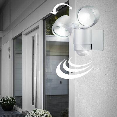 6 W LED outdoor lamp wall lamp spotlight garage motion detector light 8 meters