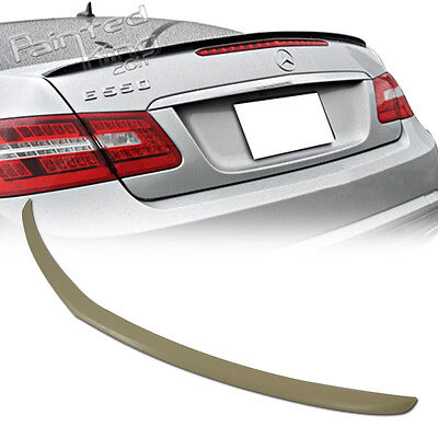 Stock in LA!Unpaint Mercedes Benz E-class C207 Coupe A Type Trunk spoiler E250