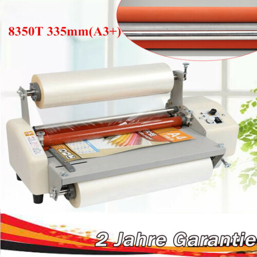 Hot Roll Laminiermaschine 8350T 335mm(A3+) Laminating Machine laminator