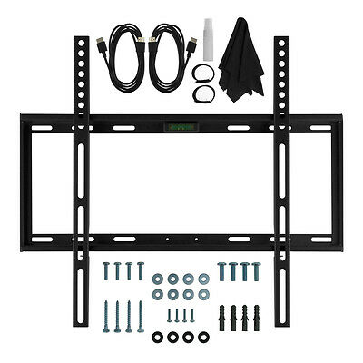 Deco Mount Slim Flat Wall Mount Kit Ultimate Bundle for 19-45 inch TVs ()