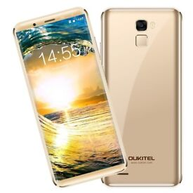 OUKITEL K5000, 5.7'' 18:9 infinity HD display full screen (Gold) *NEW* Smartphone