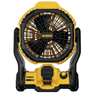DEWALT 20V MAX Cordless/Corded Jobsite Fan DCE511B New