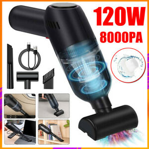 8000pa Powerful Car Vacuum Cleaner Wet/Dry Strong Suction Handheld Cleaning UK